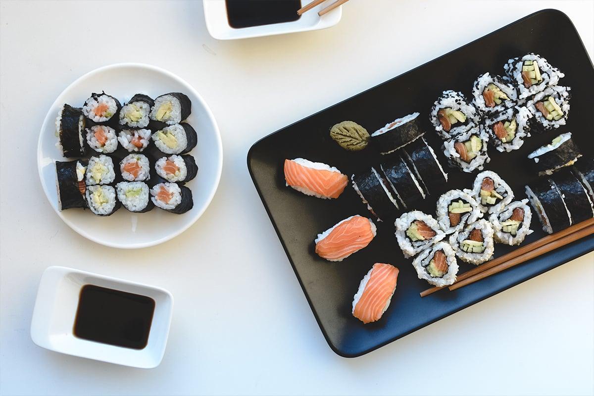 How to make homemade sushi rolls